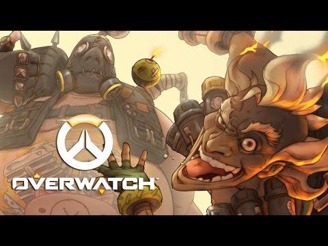 Overwatch - Roadhog and Junkrat Origins Trailer