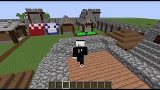 Minecraft l Construcción De Casas En Creativo - Construcción Medieval #14 l All Matzus Game