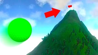EXTREME MOUNTAIN GOLF MAP! (Golf It)