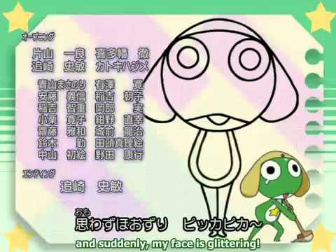 Drawing Song; Keroro [sgt. Frog] video