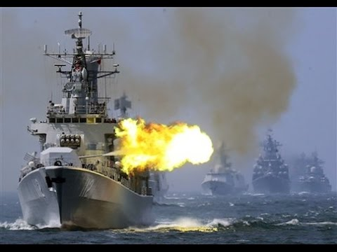 Russia China Engage in Navy War drills in Sea of Japan Breaking News September 2015