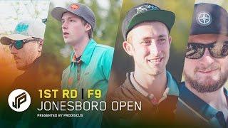 2017 Jonesboro Open | Round 1, Front 9 | Wysocki, Koling, Lizotte, Eads