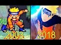 Evolution of Naruto Games 2003-2018