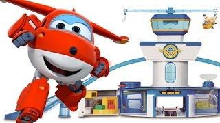 Супер Крылья: игрушки для детей. Маша собирает АЭРОПОРТ, в котором живут игрушки самолёты