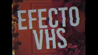 EFECTO VHS l AFTER EFFECTS