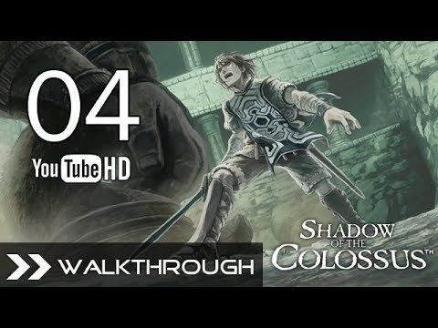 Shadow of the Colossus (PS3/PS2) - SotC Walkthrough Part 4 (Phaedra - 4th Colossus) 1080p (+P1)