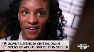 Crystal Dunn on USWNT, 2019 World Cup Diversity in Soccer SI Now Sports Illustrated