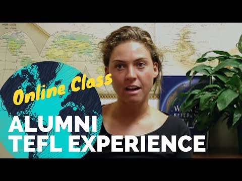 Jenn tells about her experience in the Online TEFL Class from International TEFL Academy