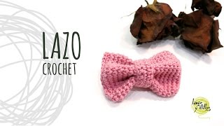 Tutorial Lazo Fácil Crochet o Ganchillo