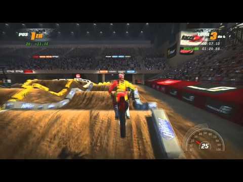 MX vs ATV Supercross Gameplay   Test & Impressions