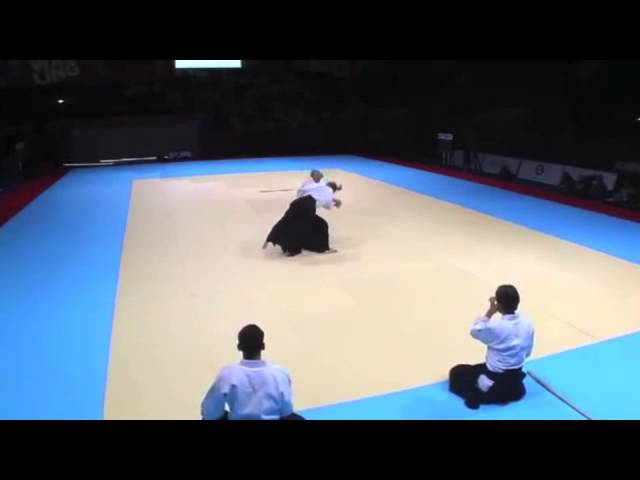 Aikido Demonstration Bruno Gonzales World Combat Games 2013 Block 5