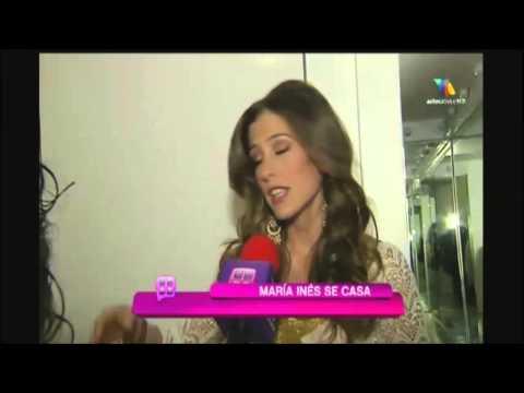 María Inés se casa