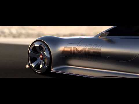 NOTCOT : Mercedes Benz Vision Gran Turismo Concept for GT6
