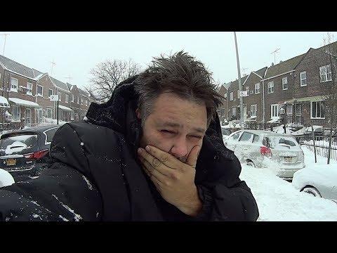 Это УЖАС! Нью-Йорк завалило! Ураган. Шторм. Пурга. Метель. Вьюга. Серьезные Катаклизмы в Америке.