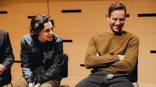 NYFF Live: Making 'Call Me By Your Name' | NYFF55