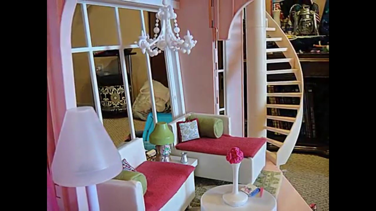 Build The Custom Dream House For Your Life Barbie Three Story Dream House Dollhouse Tour Customized W Kidkraft