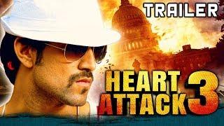 Heart Attack 3 (Lucky) 2018 Official Hindi Dubbed Trailer | Yash, Ramya, Sharan