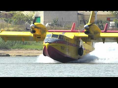 The awesome Canadair CL 215 T