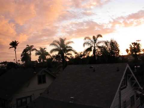 San Diego Sunset Timelapse