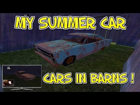 My Summer Car - Finding Hidden Cars in Barns !