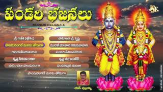 Pandari Bhajans||hekka Bhajana||Devotional Songs||Juke Box|| S BHAJANA PULLAYYA||