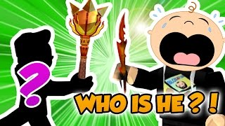 THIS GUY IS A PRO in ROBLOX ASSASSIN ! / MAGIC MACE is TOO STRONG
