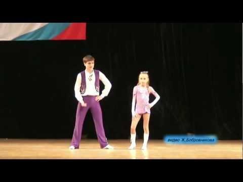 Pauline Krupenkova & Ivan Minyailo - St. Petersburg Cup 2011
