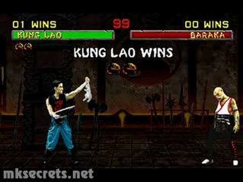 mortal kombat wallpaper kung lao. Mortal Kombat II - Friendship-