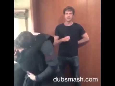 Chris Evans, Hayley Atwell & James D'Arcy - Dubsmash #2