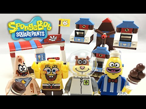 LEGO Spongebob Glove World set review! 3816