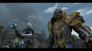 World Of Warcraft: Battle for Azeroth Beta - Opening Scenario - Alliance w/ Void Elf Warlock
