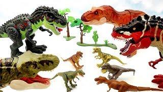 My Tyrannosaurus Toy Collection - New Jurassic World Legacy Collection Dinosaur Park Dino Toys