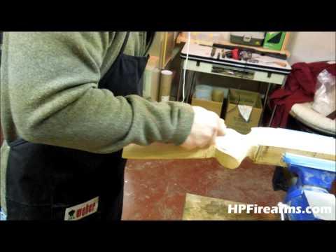 Hand Crafting a Gun Stock (Teaser) by HPFirearms