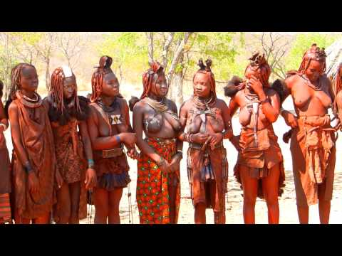 Himba Dance  Dancing people from Namibia Xingu Tribes