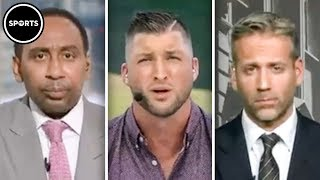 Tim Tebow SHILLS On First Take