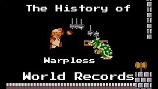 The History of Super Mario Bros Warpless World Records