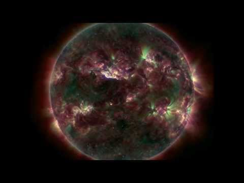Earth Directed M-Class Flare with Moreton wave | April 11, 2013