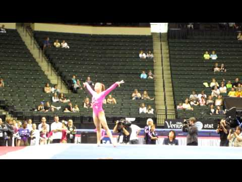 Brenna Dowell - 2011 Visa Championships - Floor