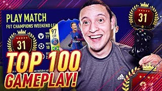 WE GOT 97 TOTS NEYMAR!! TOP 100 PRO GAMEPLAY! FUT CHAMPIONS *LIVE* | FIFA 18 ULTIMATE TEAM