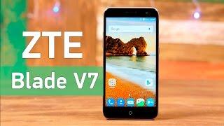 ZTE Blade V7 - смартфон с хорошим техническим оснащением - Видео демонстрация