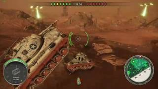 World OF Tank xbox Mars Game Play