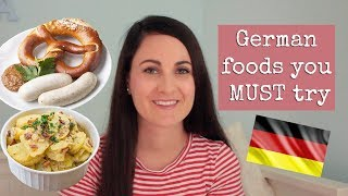 DELICIOUS GERMAN FOODS YOU MUST TRY 🇩🇪