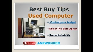 Used Computer Best Buy Tips in Bengali