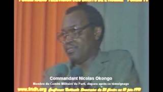 CNS: Okongo Nicolas reconnait la responsabilit du CMP sur les assassinats de mars 1977