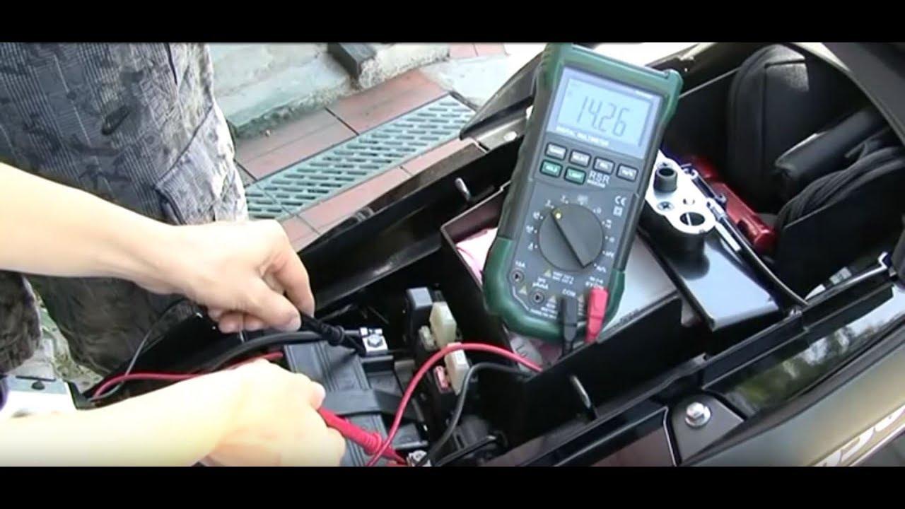 Dl650 Vstrom L0 Battery Maintenance  U0026 Tests Mpg