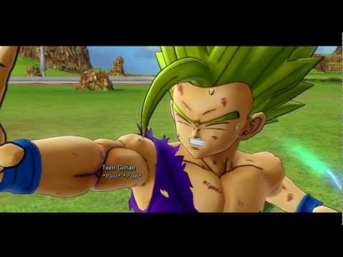Dragon Ball Z Ultimate Tenkaichi - Ssj2 Gohan Vs Perfect Cell (round 2) video