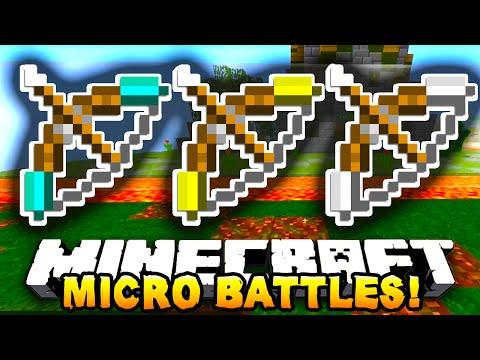 """Minecraft SOLO MICRO BATTLES! """"DEATH BALL!"""" #10 - w/ PrestonPlayz"""