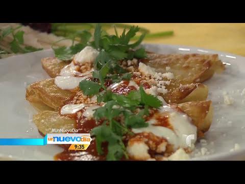 Un Nuevo Día / Receta de tacos ahogados junto al Chef James / Telemundo