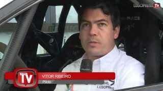 Vitor Ribeiro e o seu co-piloto Fernando Sousa vão participar na edição de 2015 do Rally de Portugal