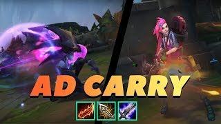 AD CARRY MONTAGE   BEST AD PLAYS S9   Epic Outplay League of legends